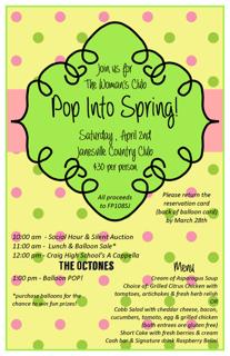 Pop Into Spring